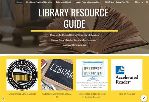 Library Resource Gude